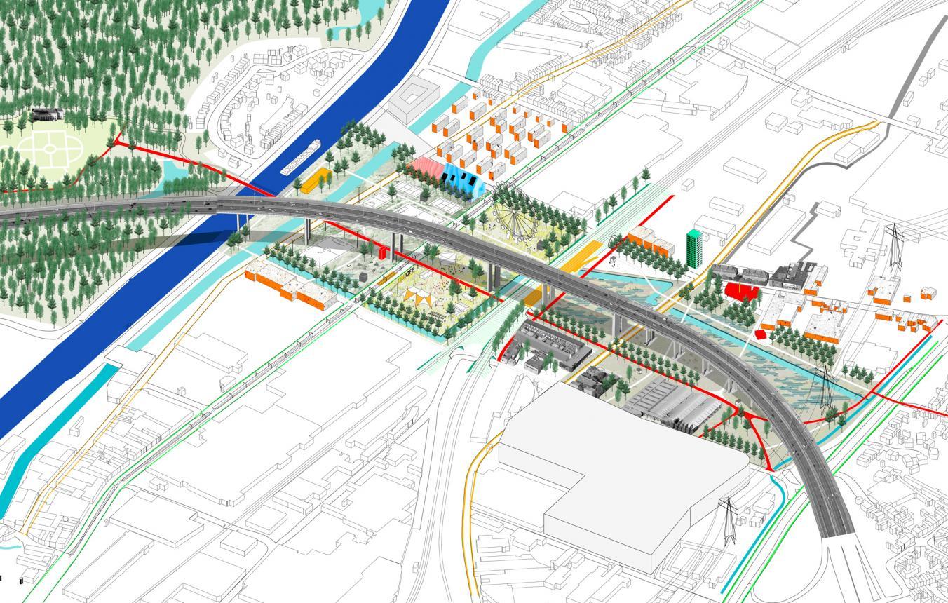 Park Central Vilvoorde LOLA Landscape Architects Floris Alkemade & Grontmij