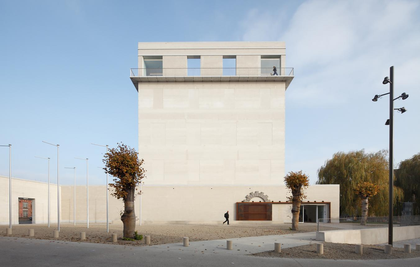 OO1301 Kazerne Dossin: Memoriaal, Museum en Documentatiecentrum over Holocaust en Mensenrechten, Mechelen, AWG Architecten, 2012