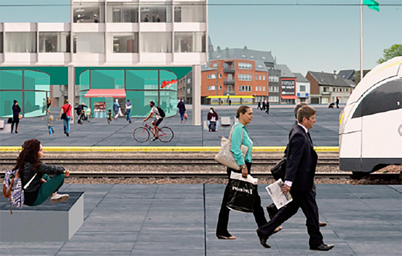 OO2905 Visiebeeld ©LIST, LOLA landscape architects, Sweco Belgium nv