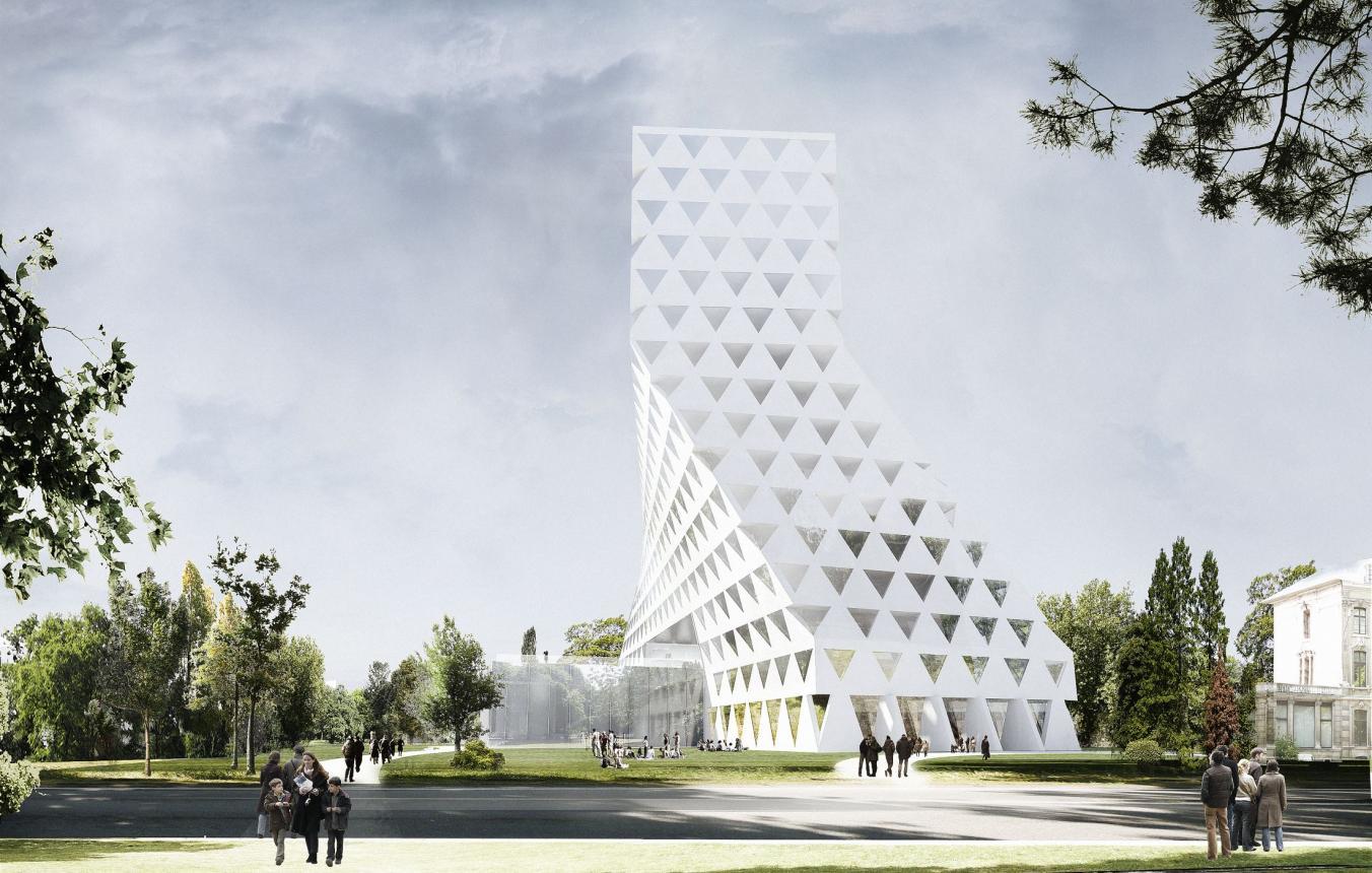 OO2101 Visiebeeld © Xaveer De Geyter Architectenbureau BVBA