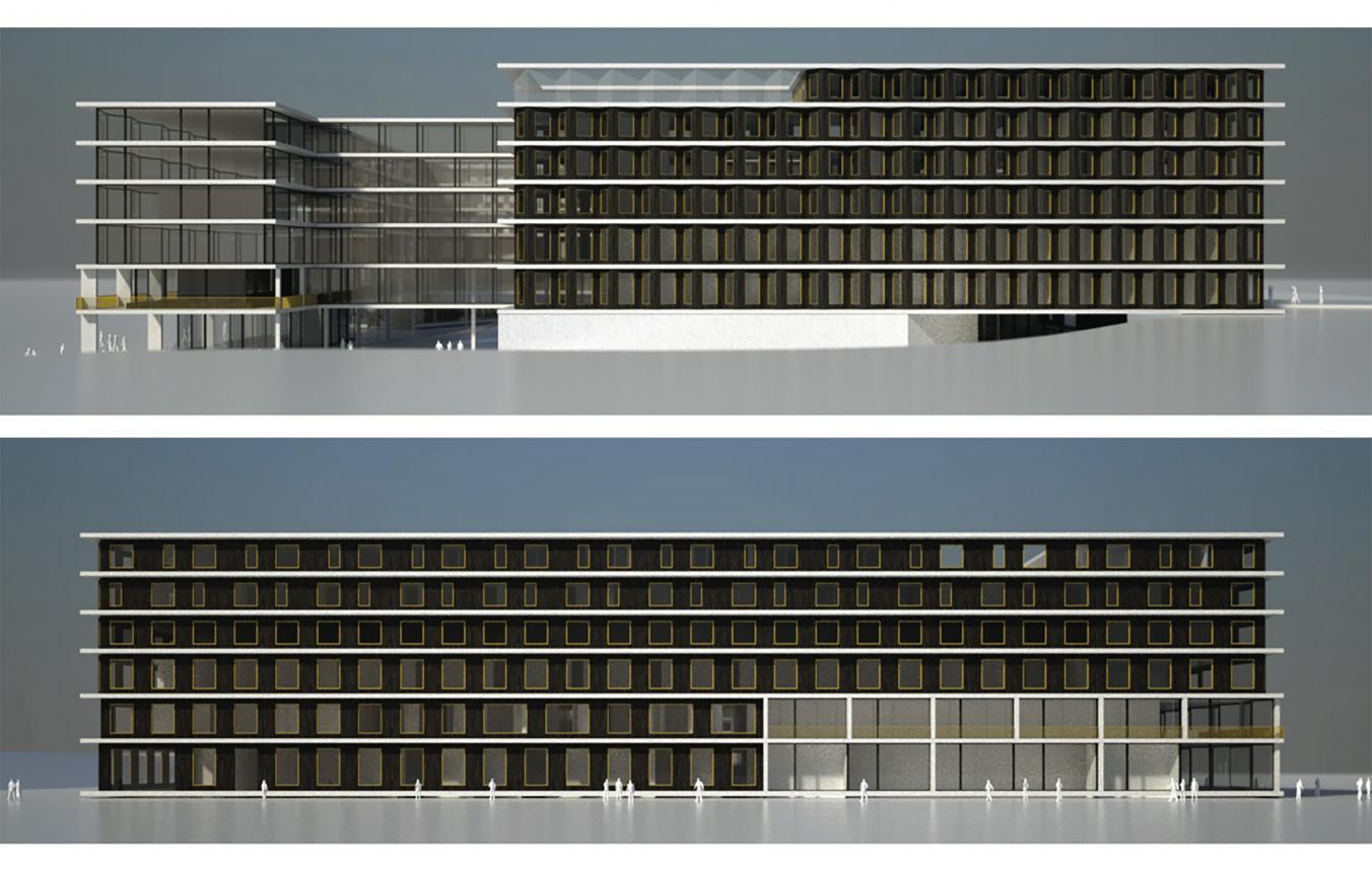 OO2401_Architectenvennootschap AR-TE, Daidalos Peutz Bouwfysisch Ingenieursbureau bvba, de Jong Gortemaker Algra, NU architectuuratelier, STABO Ingenieurs, West 8 Brussel Urban design&landscape architecture_visebeeld