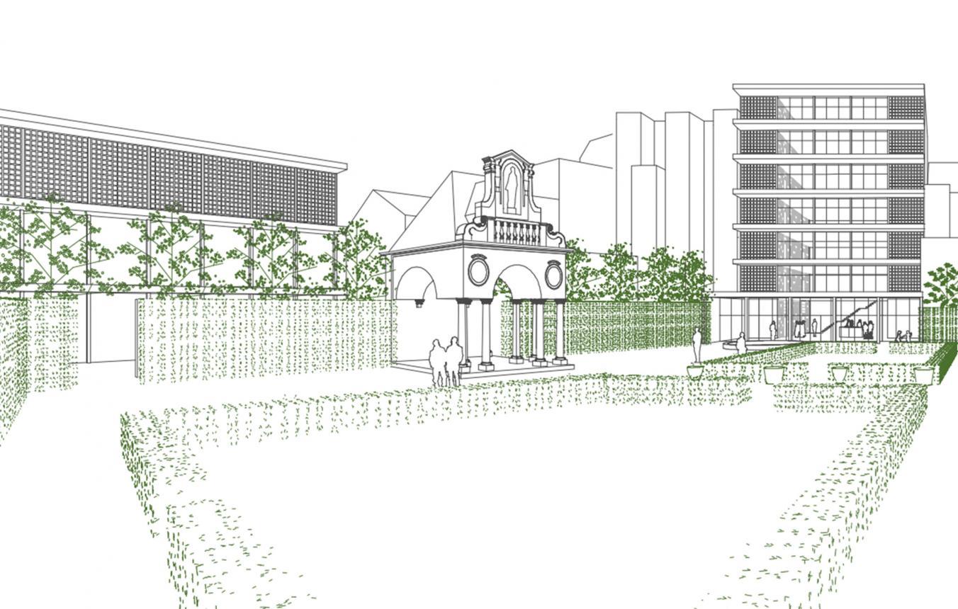 OO3201 Rubenssite Antwerpen - ontwerpvisie Robbrecht & Daem