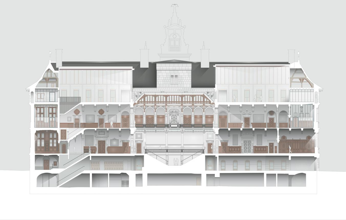 OO2802 - Stadhuis Antwerpen - concept Hub - Origin - Bureau Bouwtechniek