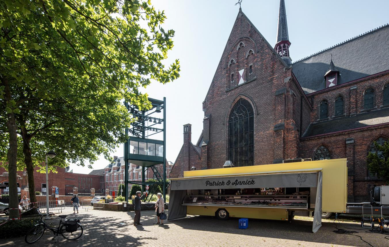 Sitefoto's OO4004 Burcht herbestemming kerk