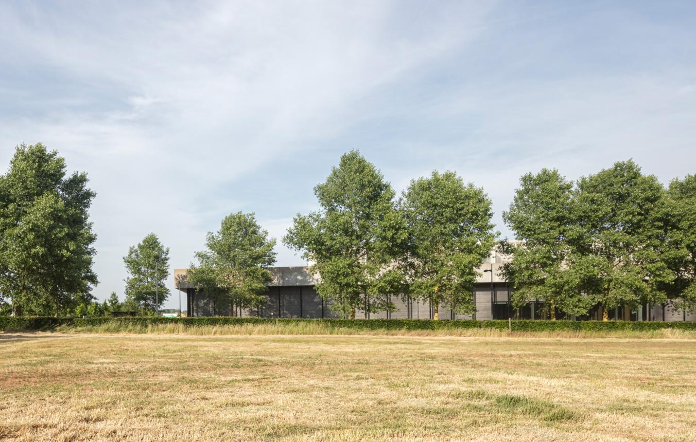 Sitefoto's OO4001 Hulpverleningskazerne Fluvia Kortrijk