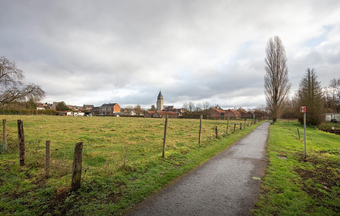 Sitefoto projectsite OO4101 Zorgbuurt Kessel