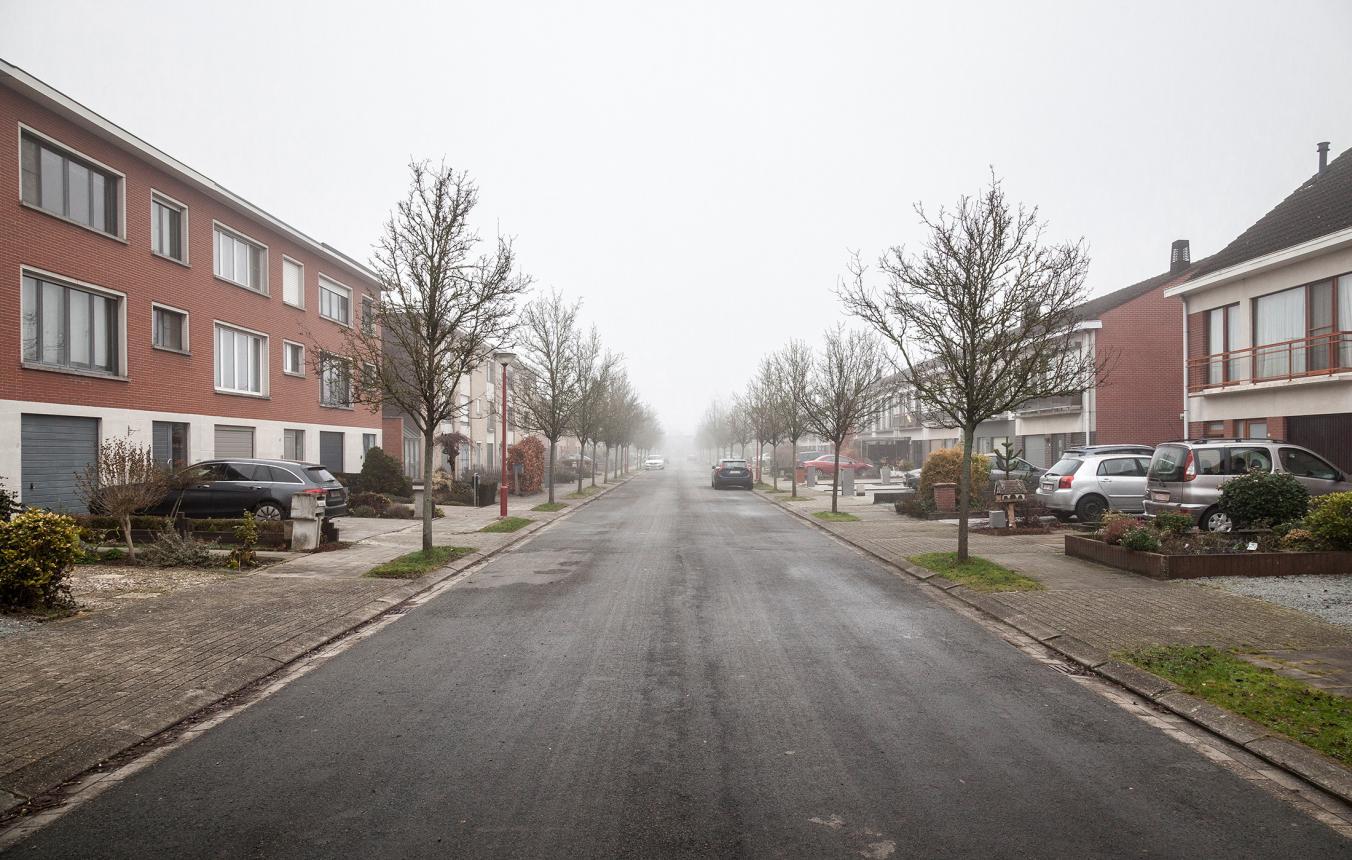 Projectgebied wijkherontwikkeling in Lint