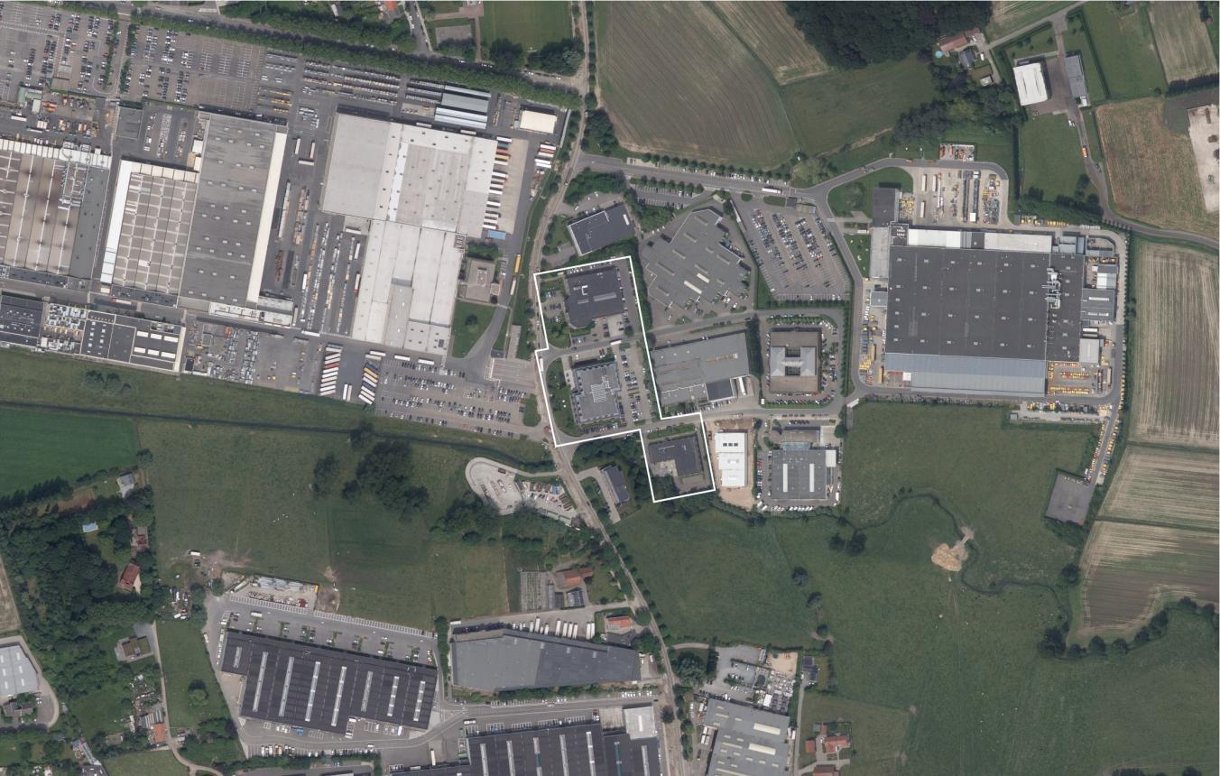 OO3403 Campus Aquafin Aartselaar luchtfoto