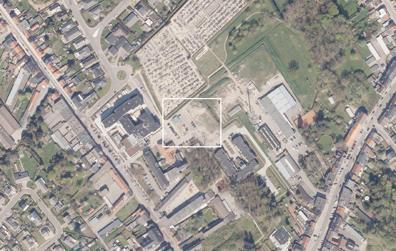 Luchtfoto projectsite OO4002 Site Snoezelhof Stekene Vesta vzw
