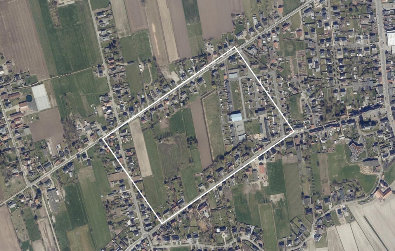 Luchtfoto projectsite OO4108 Groothuiswijk Beveren