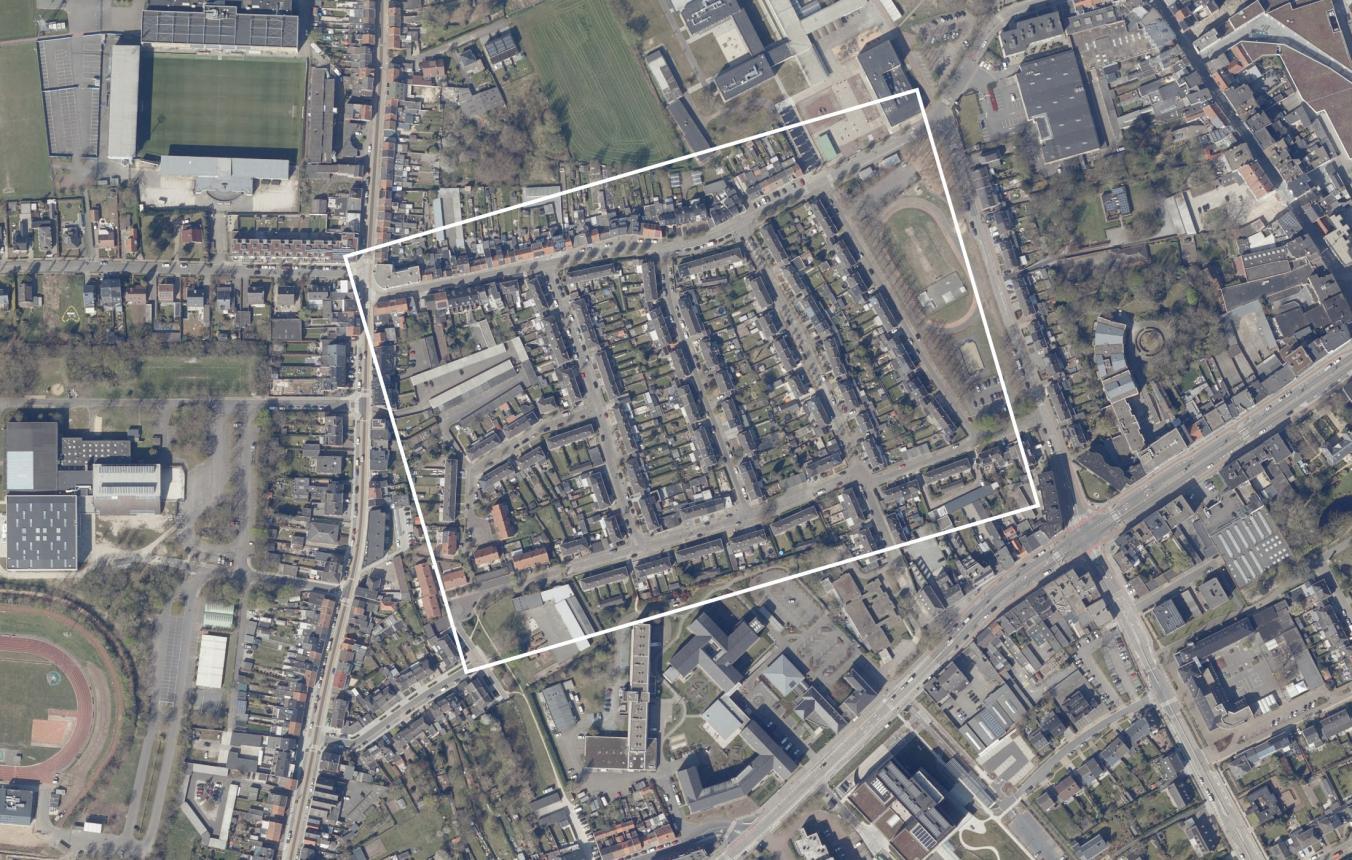 Luchtfoto projectsite OO4110 Molenbergwijk Beveren