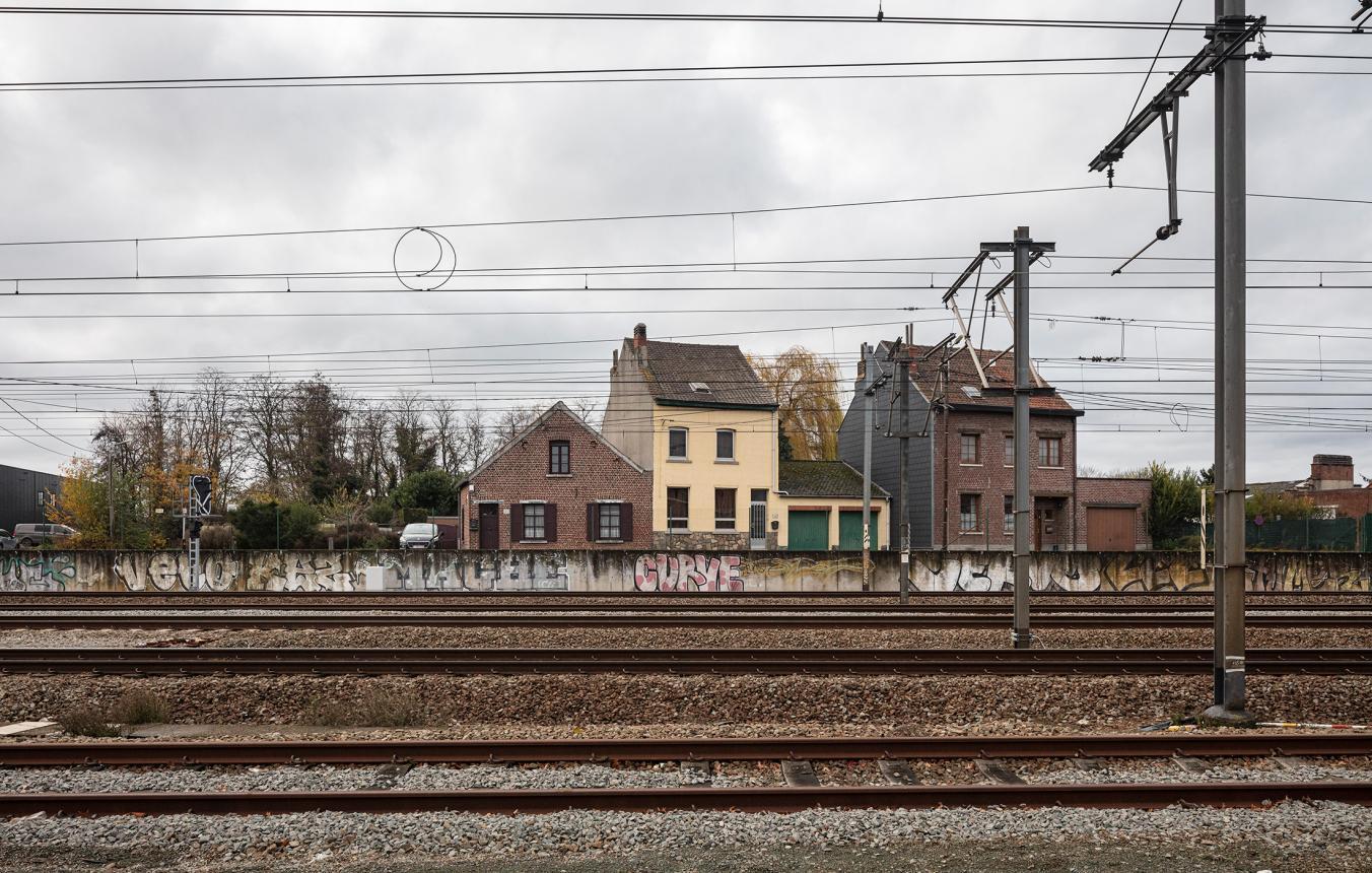 Sitefoto projectsite OO4109 Stationsomgeving Ruisbroek
