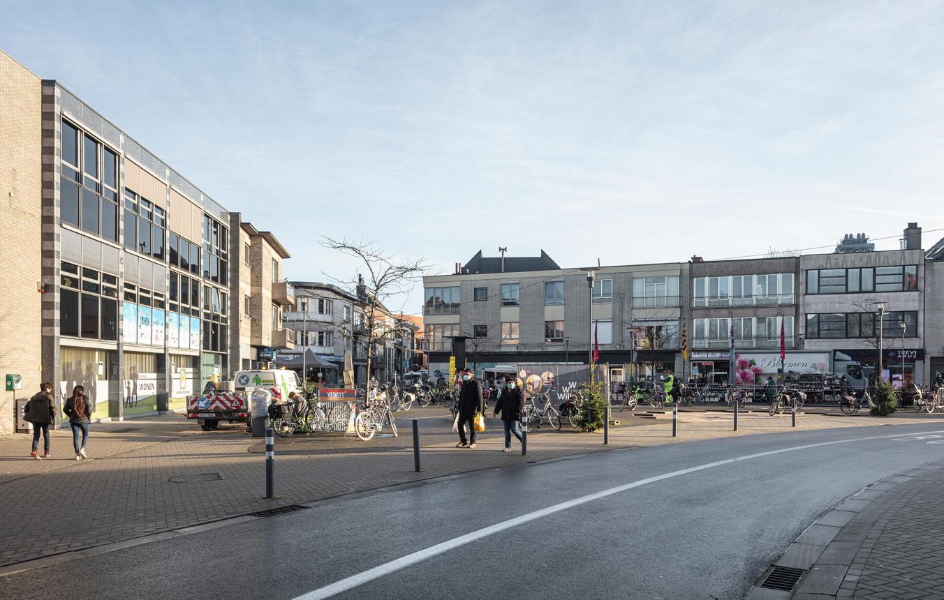 Sitefoto projectsite OO4107 Masterplan centrum Willebroek