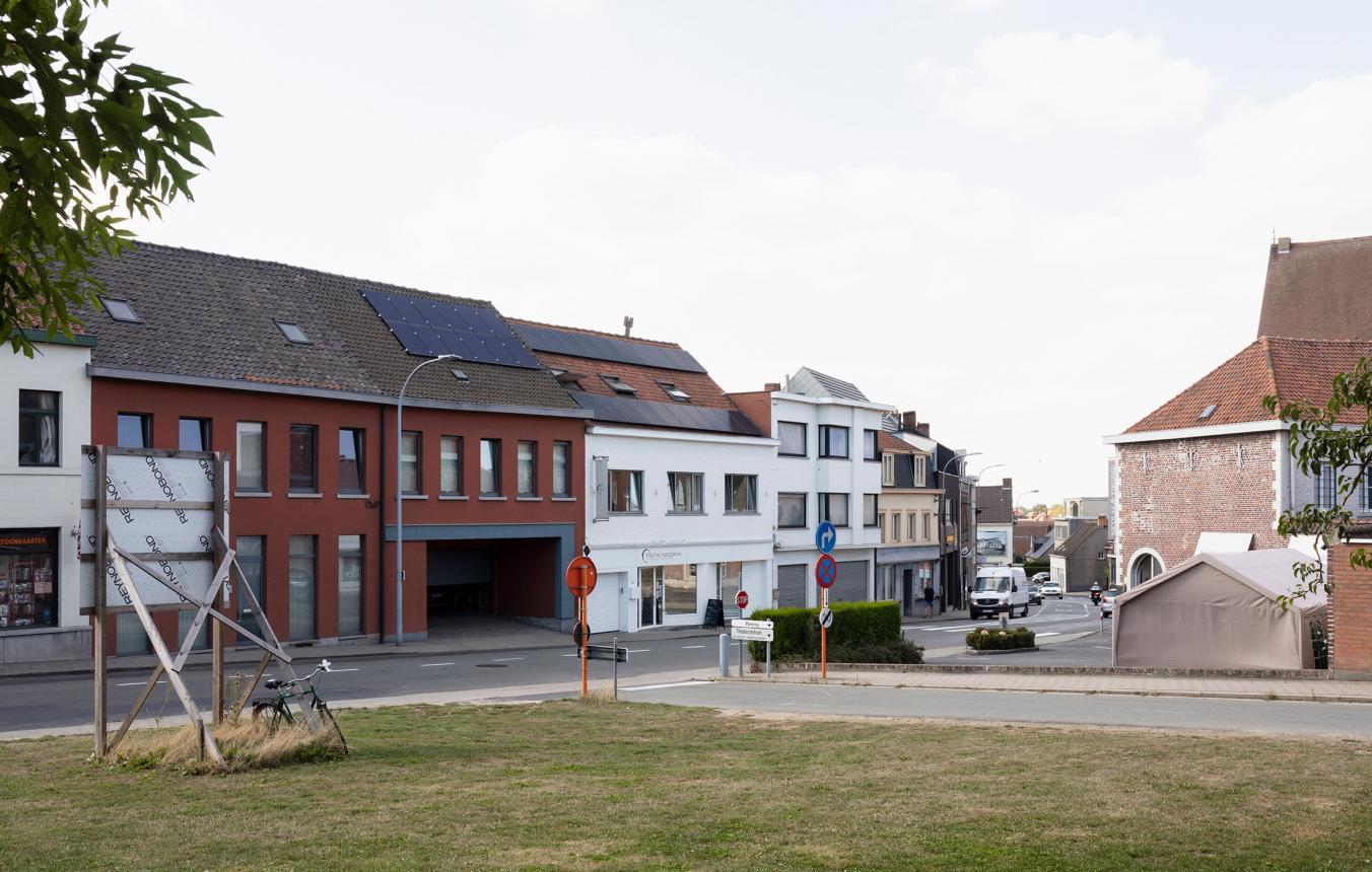 Inbreidingsproject centrum Zwevegem