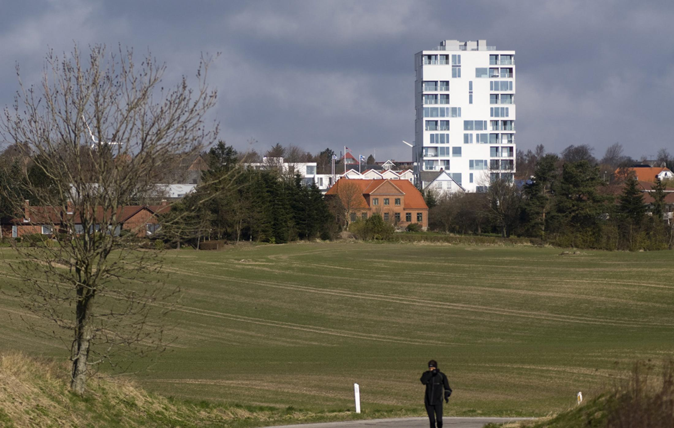 Urban High Rise in Aarhus (Denemarken)