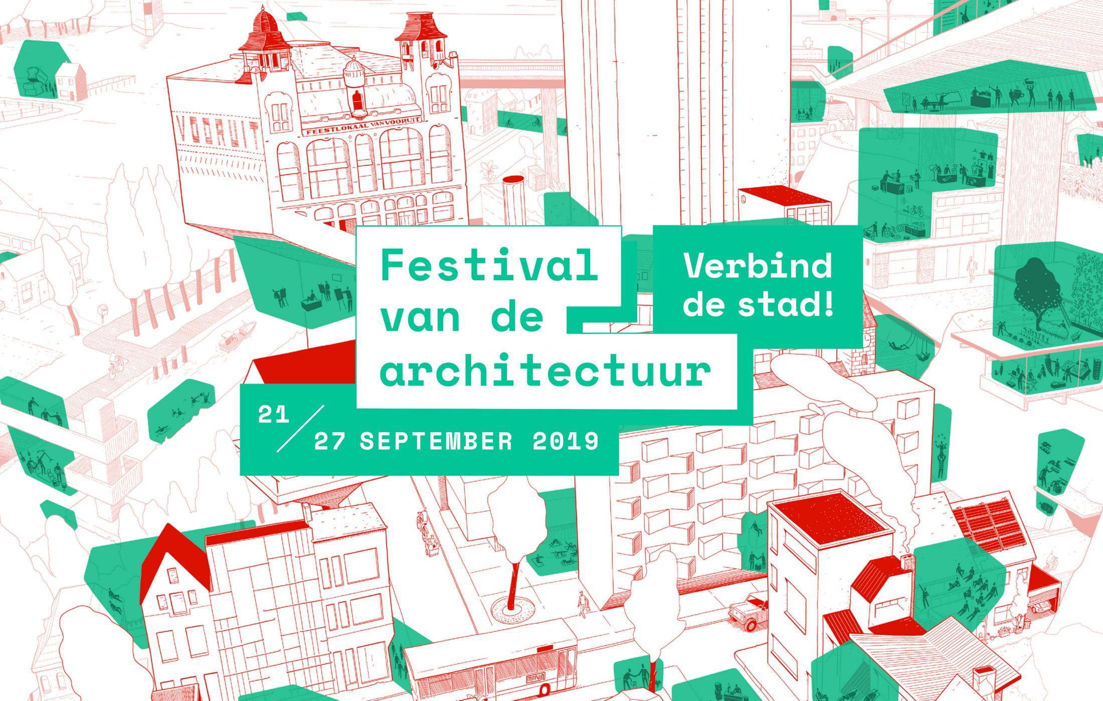 Festival van de architectuur - Verbind de stad, 21 tot 27 september ©Marijn Dionys