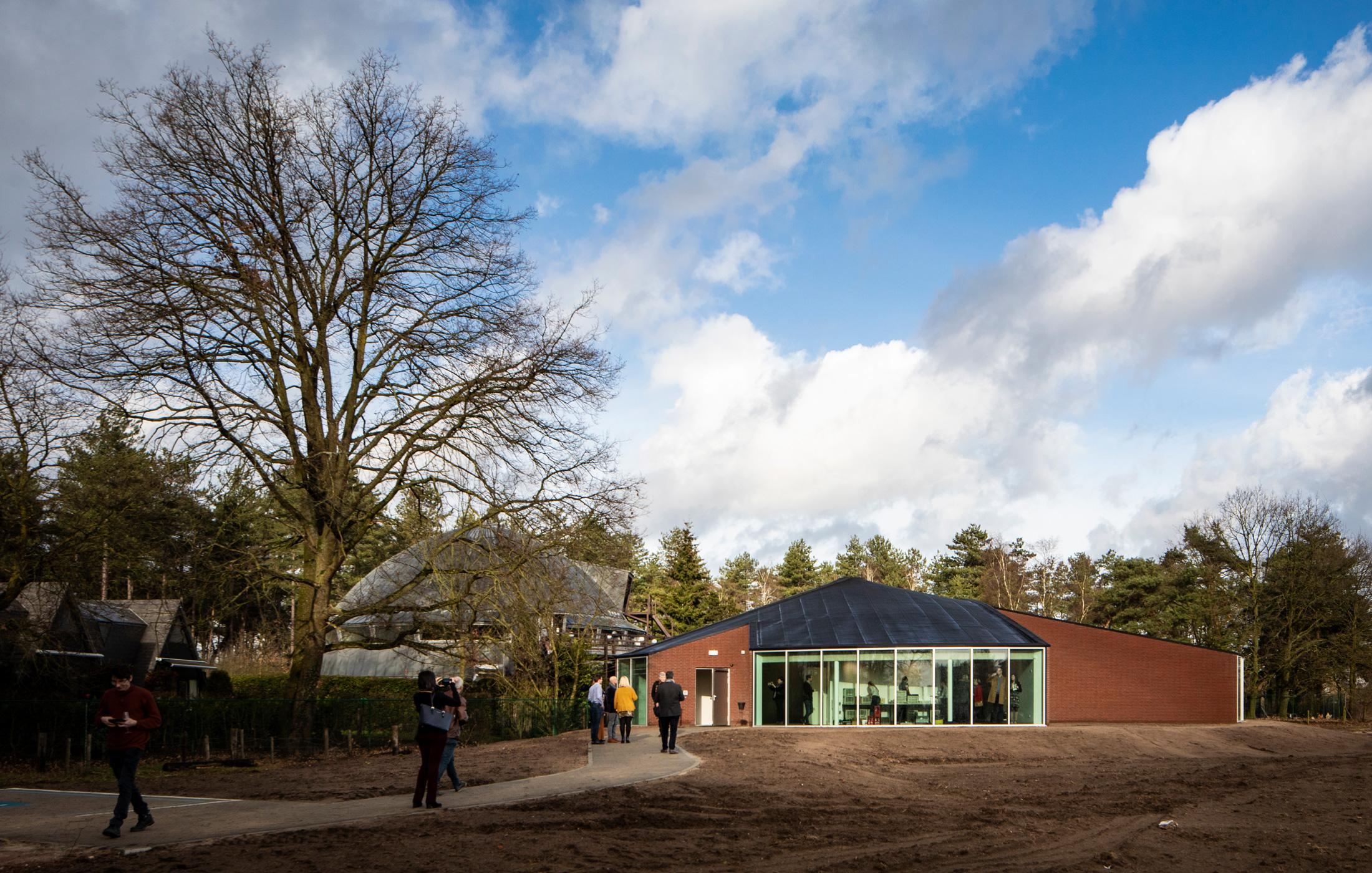 Nieuw paviljoen Frans Masereel Centrum in Kasterlee geopend