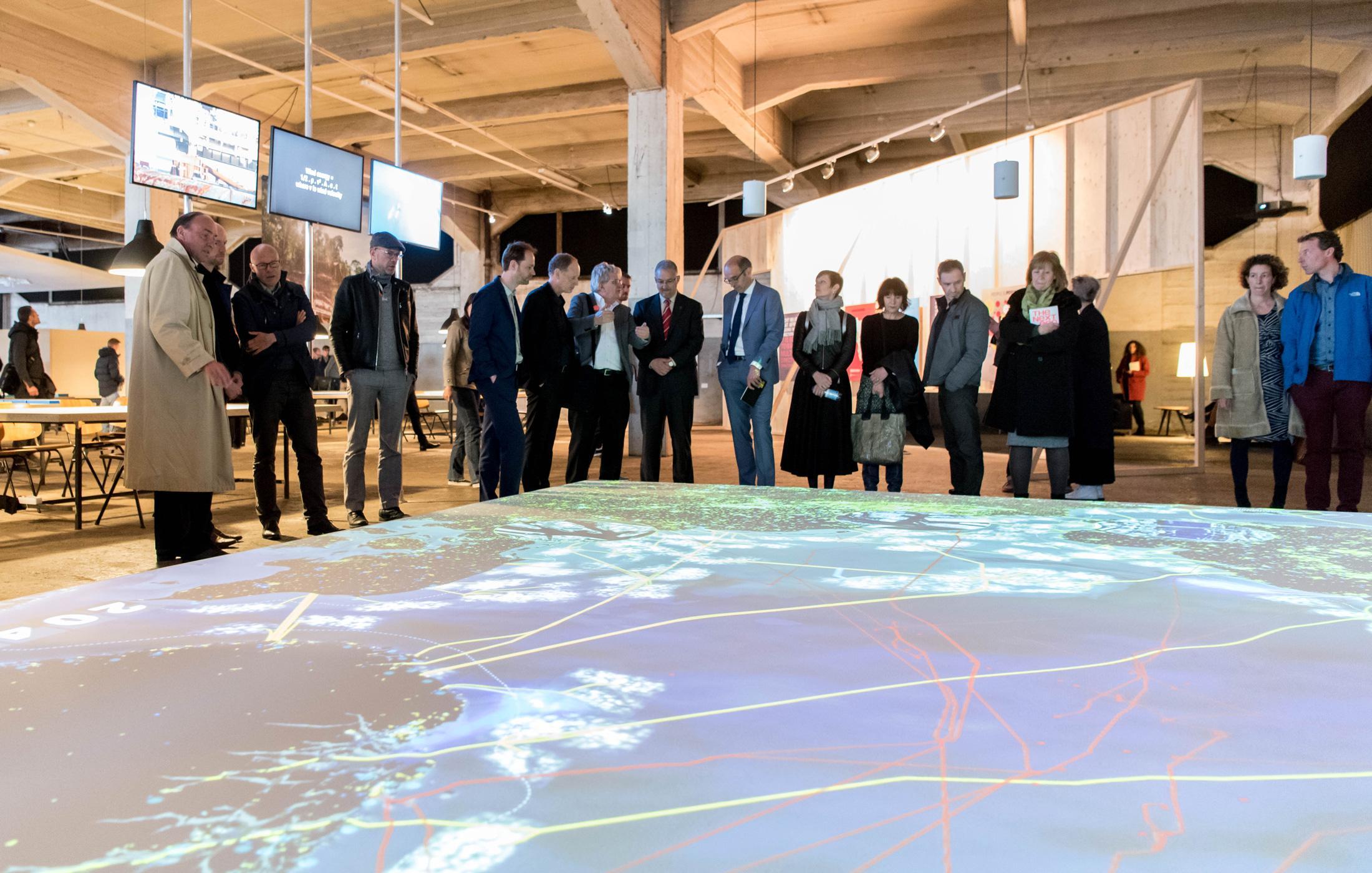 IABR-Atelier over de kansen van grootschalige windenergie-winning op de Noordzee, IABR-2016-THE NEXT ECONOMY fotograaf: Hans Tak.