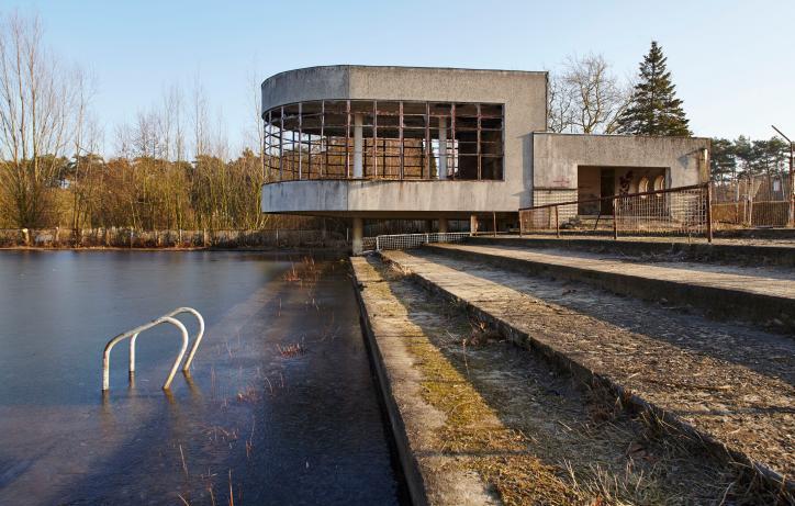 MP1703 Herbestemming voormalig openluchtzwembad Sport Vlaanderen Hofstade in Zemst