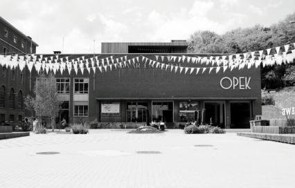 Vooraanzicht OPEK-gebouw in Leuven. Oproep aan geïnteresseerden: een OPEK voor de toekomst ©Kristof Van Perre