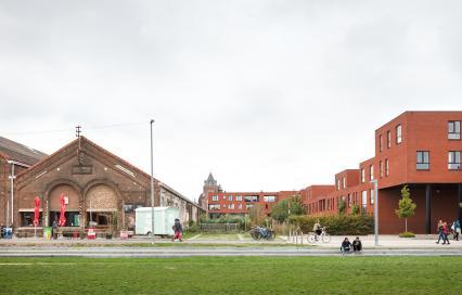 Centrale Werkplaatsen Leuven  Architecten: VBM Architecten, Bogdan & Van Broeck, Vectris - Infrabo, Projectontwikkelaar: Matexi