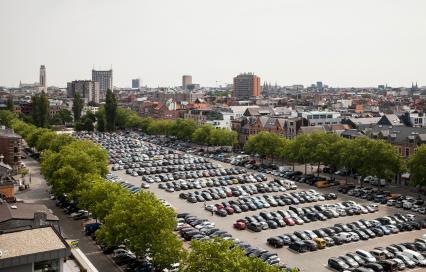 Zuiderdokken Antwerpen als parking