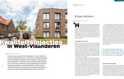 ©RUIMTE, magazine van de Vlaamse Vereniging voor Ruimte en Planning: www.vrp.be/ruimte