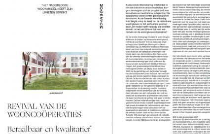 Revival van de wooncoöperaties door Anne Malliet