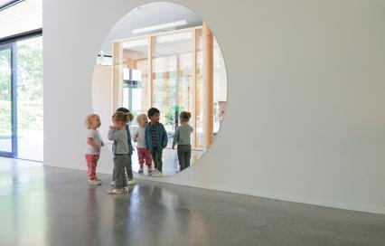 Prijs Wivina Demeester voor Excellent Bouwheerschap 2019, Untitled (Prelude), Kinderdagverblijf De Zonnebloem, vzw Emmaüs, Mechelen